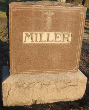 MILLER, FAMILY MONUMENT - Saline County, Nebraska | FAMILY MONUMENT MILLER - Nebraska Gravestone Photos