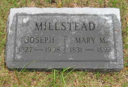 MILLSTEAD, MARY M. - Saline County, Nebraska | MARY M. MILLSTEAD - Nebraska Gravestone Photos