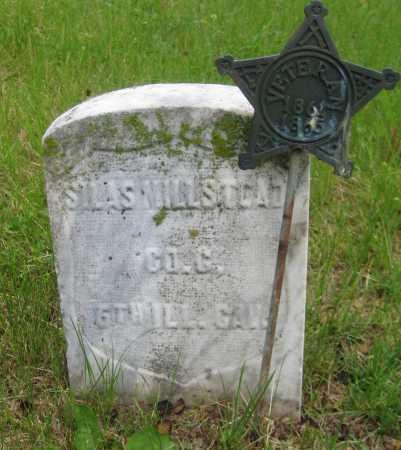 MILLSTEAD, SILAS - Saline County, Nebraska | SILAS MILLSTEAD - Nebraska Gravestone Photos