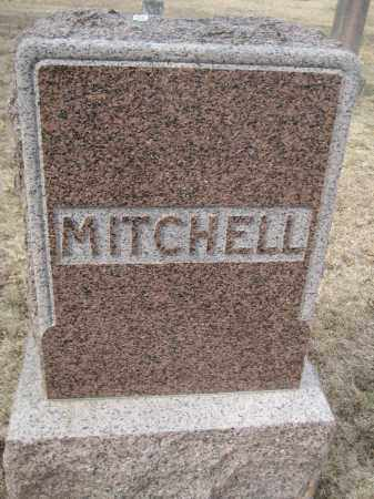 MITCHELL, FAMILY MONUMENT - Saline County, Nebraska | FAMILY MONUMENT MITCHELL - Nebraska Gravestone Photos