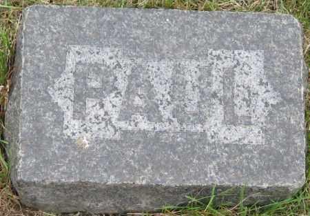 MITCHELL, PAUL - Saline County, Nebraska   PAUL MITCHELL - Nebraska Gravestone Photos