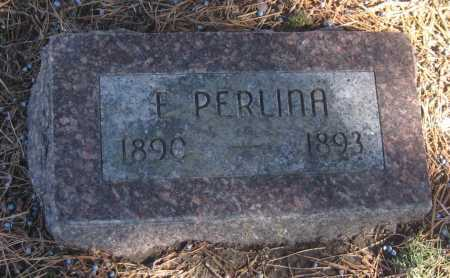MITCHELL, E. PERLINA - Saline County, Nebraska | E. PERLINA MITCHELL - Nebraska Gravestone Photos