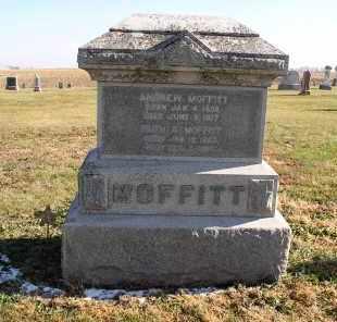 MOFFITT, ANDREW - Saline County, Nebraska | ANDREW MOFFITT - Nebraska Gravestone Photos