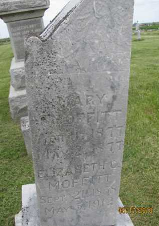 ROBERTS MOFFITT, ELIZABETH CATHERINE - Saline County, Nebraska   ELIZABETH CATHERINE ROBERTS MOFFITT - Nebraska Gravestone Photos