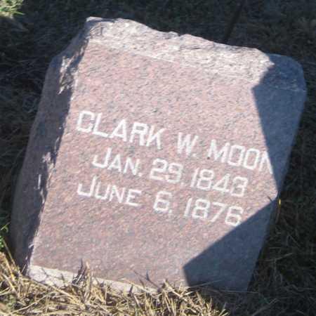 MOON, CLARK W. - Saline County, Nebraska | CLARK W. MOON - Nebraska Gravestone Photos