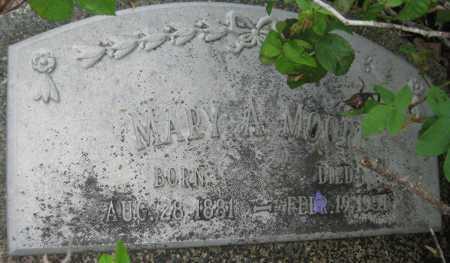 MOORE, MARY A. - Saline County, Nebraska | MARY A. MOORE - Nebraska Gravestone Photos