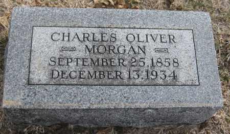 MORGAN, CHARLES OLIVER - Saline County, Nebraska | CHARLES OLIVER MORGAN - Nebraska Gravestone Photos