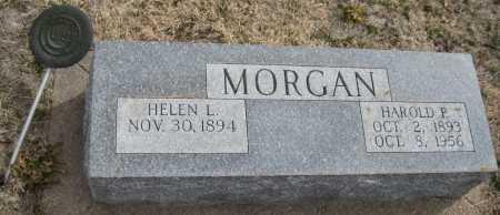 MORGAN, HELEN L. - Saline County, Nebraska | HELEN L. MORGAN - Nebraska Gravestone Photos