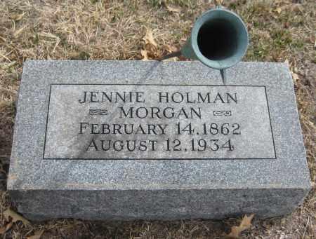 MORGAN, JENNIE - Saline County, Nebraska | JENNIE MORGAN - Nebraska Gravestone Photos