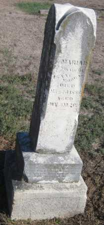 MORGAN, MARIA R. - Saline County, Nebraska | MARIA R. MORGAN - Nebraska Gravestone Photos