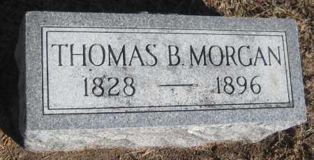 MORGAN, THOMAS B. - Saline County, Nebraska | THOMAS B. MORGAN - Nebraska Gravestone Photos