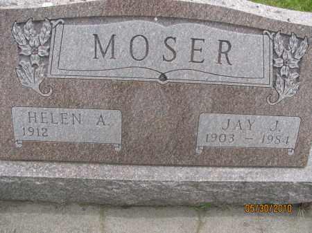 PARKS MOSER, HELEN ALICE - Saline County, Nebraska | HELEN ALICE PARKS MOSER - Nebraska Gravestone Photos