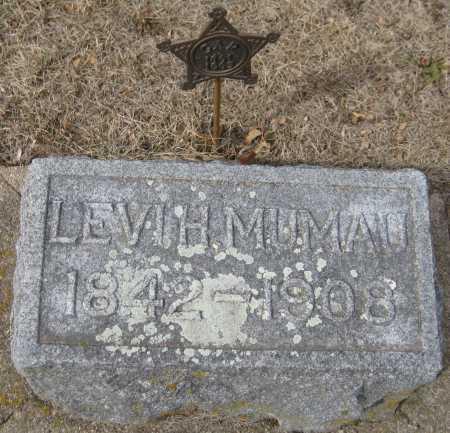 MUMAU, LEVI H. - Saline County, Nebraska | LEVI H. MUMAU - Nebraska Gravestone Photos