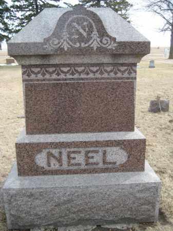 NEEL, FAMILY MONUMENT - Saline County, Nebraska   FAMILY MONUMENT NEEL - Nebraska Gravestone Photos