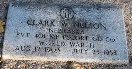 NELSON, CLARK W. - Saline County, Nebraska | CLARK W. NELSON - Nebraska Gravestone Photos