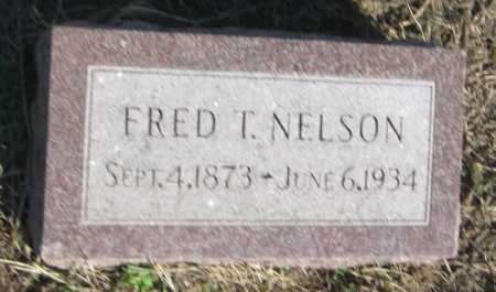 NELSON, FRED T. - Saline County, Nebraska | FRED T. NELSON - Nebraska Gravestone Photos