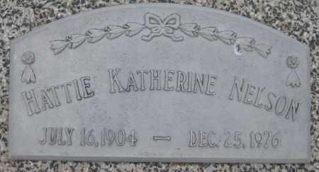 NELSON, HATTIE KATHERINE - Saline County, Nebraska | HATTIE KATHERINE NELSON - Nebraska Gravestone Photos