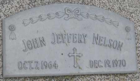 NELSON, JOHN JEFFERY - Saline County, Nebraska | JOHN JEFFERY NELSON - Nebraska Gravestone Photos