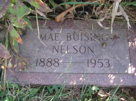 NELSON, MAE - Saline County, Nebraska   MAE NELSON - Nebraska Gravestone Photos