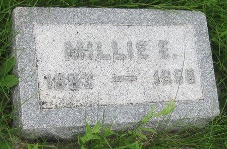 NELSON, MILLIE E. - Saline County, Nebraska   MILLIE E. NELSON - Nebraska Gravestone Photos