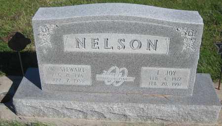 NELSON, W. STEWART - Saline County, Nebraska   W. STEWART NELSON - Nebraska Gravestone Photos