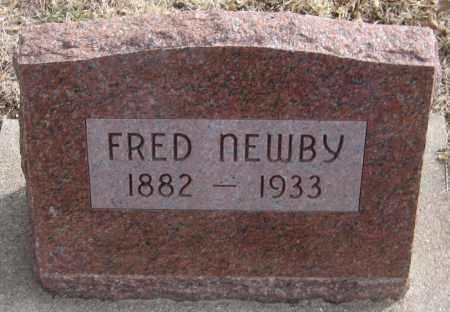 NEWBY, FRED - Saline County, Nebraska | FRED NEWBY - Nebraska Gravestone Photos