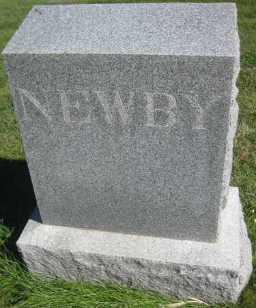 NEWBY, FAMILY MONUMENT - Saline County, Nebraska   FAMILY MONUMENT NEWBY - Nebraska Gravestone Photos