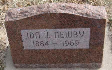 NEWBY, IDA J. - Saline County, Nebraska | IDA J. NEWBY - Nebraska Gravestone Photos