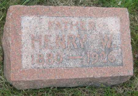 NICKEL, HENRY W. - Saline County, Nebraska | HENRY W. NICKEL - Nebraska Gravestone Photos