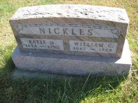 NICKLES, KATHERINE MAUDE - Saline County, Nebraska   KATHERINE MAUDE NICKLES - Nebraska Gravestone Photos