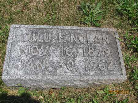 NOLAN, LULU FAY - Saline County, Nebraska | LULU FAY NOLAN - Nebraska Gravestone Photos