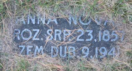 NOVAK, ANNA - Saline County, Nebraska | ANNA NOVAK - Nebraska Gravestone Photos