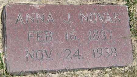 NOVAK, ANNA J. - Saline County, Nebraska | ANNA J. NOVAK - Nebraska Gravestone Photos
