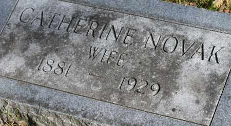 NOVAK, CATHERINE - Saline County, Nebraska   CATHERINE NOVAK - Nebraska Gravestone Photos