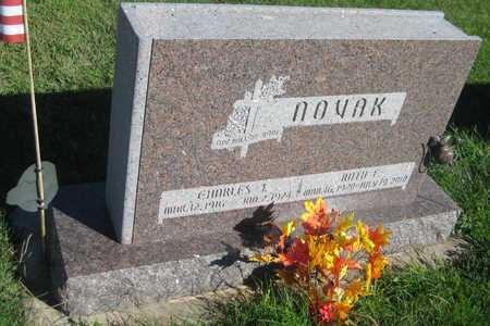 NOVAK, RUTH E. - Saline County, Nebraska   RUTH E. NOVAK - Nebraska Gravestone Photos