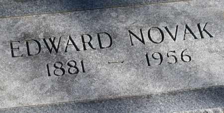 NOVAK, EDWARD - Saline County, Nebraska | EDWARD NOVAK - Nebraska Gravestone Photos