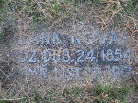 NOVAK, FRANK - Saline County, Nebraska | FRANK NOVAK - Nebraska Gravestone Photos