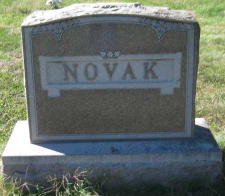 NOVAK, FAMILY MONUMENT - Saline County, Nebraska | FAMILY MONUMENT NOVAK - Nebraska Gravestone Photos