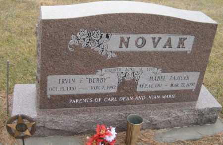 NOVAK, MABEL - Saline County, Nebraska | MABEL NOVAK - Nebraska Gravestone Photos