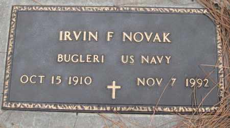 NOVAK, IRVIN F. - Saline County, Nebraska | IRVIN F. NOVAK - Nebraska Gravestone Photos