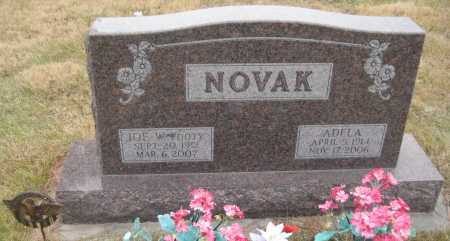NOVAK, ADELA - Saline County, Nebraska | ADELA NOVAK - Nebraska Gravestone Photos