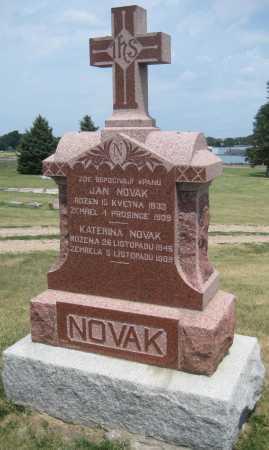 NOVAK, JAN - Saline County, Nebraska | JAN NOVAK - Nebraska Gravestone Photos