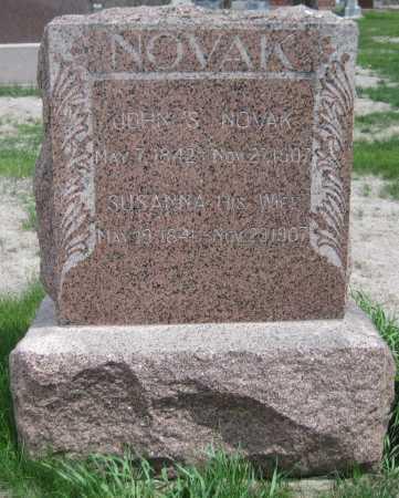 NOVAK, JOHN S. - Saline County, Nebraska | JOHN S. NOVAK - Nebraska Gravestone Photos