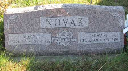NOVAK, EDWARD - Saline County, Nebraska | EDWARD NOVAK - Nebraska Gravestone Photos