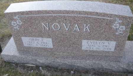 NOVAK, EVELYN V. - Saline County, Nebraska | EVELYN V. NOVAK - Nebraska Gravestone Photos