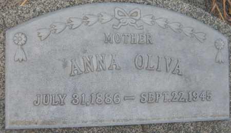 BERANEK OLIVA, ANNA - Saline County, Nebraska | ANNA BERANEK OLIVA - Nebraska Gravestone Photos
