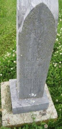OTTERSON, LUCY - Saline County, Nebraska | LUCY OTTERSON - Nebraska Gravestone Photos