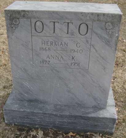 OTTO, HERMAN C. - Saline County, Nebraska | HERMAN C. OTTO - Nebraska Gravestone Photos
