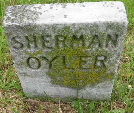 OYLER, SHERMAN - Saline County, Nebraska | SHERMAN OYLER - Nebraska Gravestone Photos