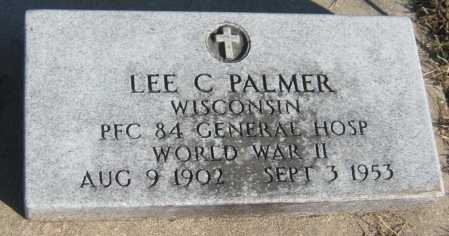 PALMER, LEE C. - Saline County, Nebraska   LEE C. PALMER - Nebraska Gravestone Photos